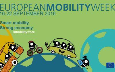 European Mobility Week del 16 al 22 de septiembre 2016