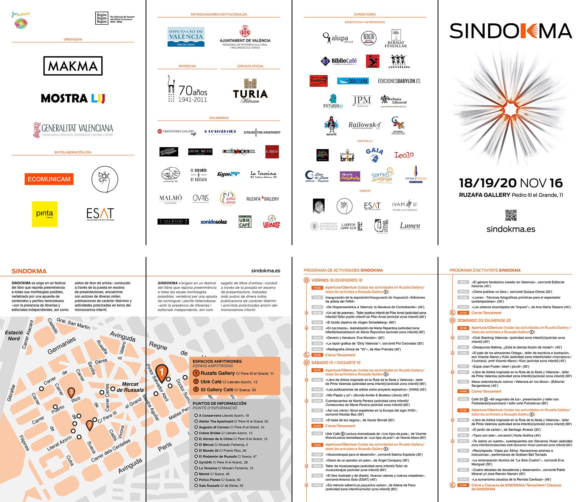 Sindokma 2016 Programa