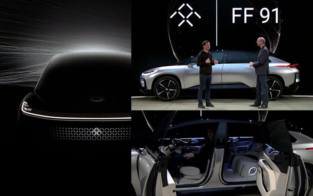FF 91 el VE de Faraday Future
