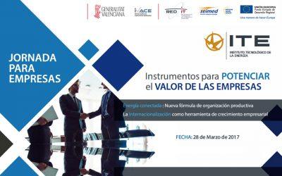 Instrumento para potenciar el valor de las empresas, jornada ITE
