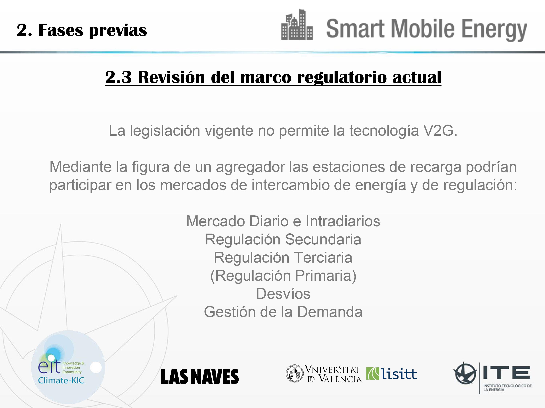 Resultados proyecto Smart Mobile Energy (SME) - Ovans