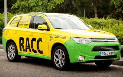 Nuevo servicio RACC de asistencia a vehículos eléctricos