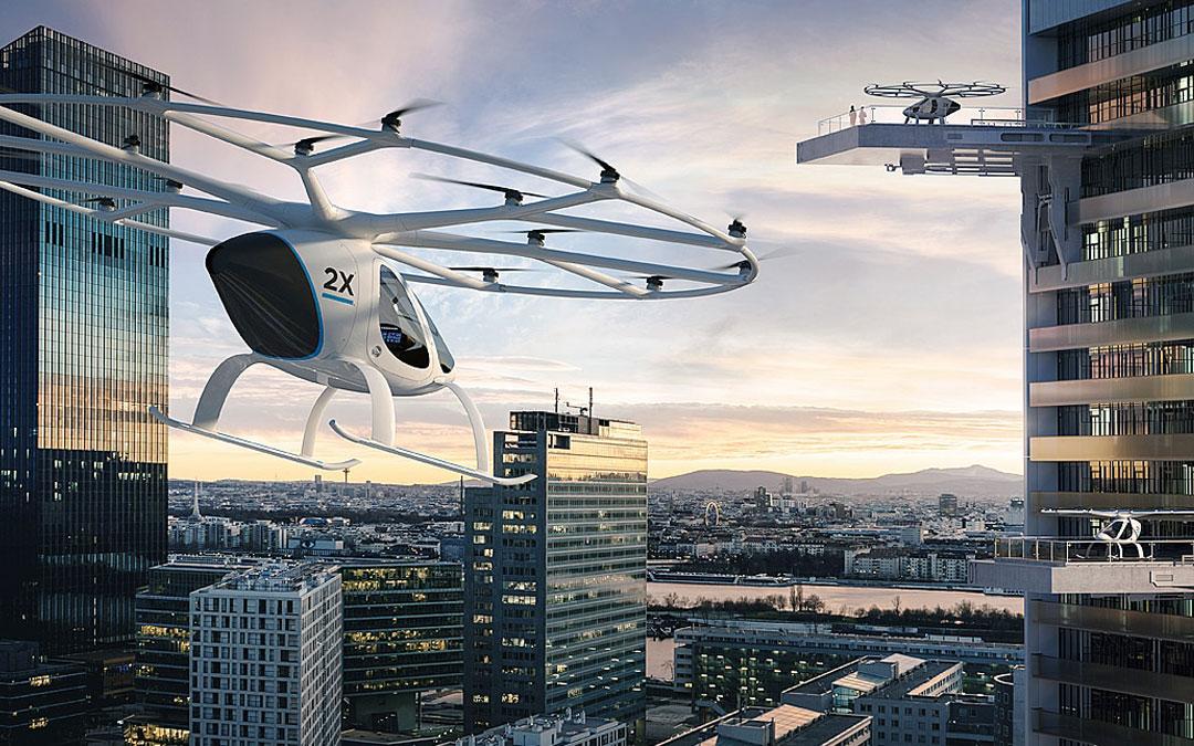 Volocopter el taxi aéreo eléctrico y autónomo