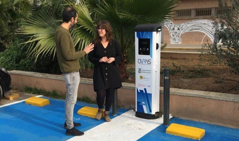 Burjassot se suma al impulso de la movilidad eléctrica con OVANS
