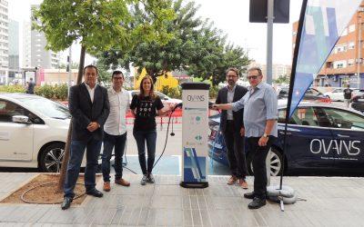 Torrent pone en marcha su primer punto de recarga para vehículos eléctricos