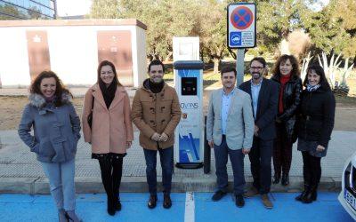València Parc Tecnològic instala su segundo punto de recarga de vehículos eléctricos renovando su compromiso con la movilidad sostenible
