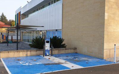 Nueva instalación de puntos de recarga de vehículos eléctricos en La Pobla del Duc